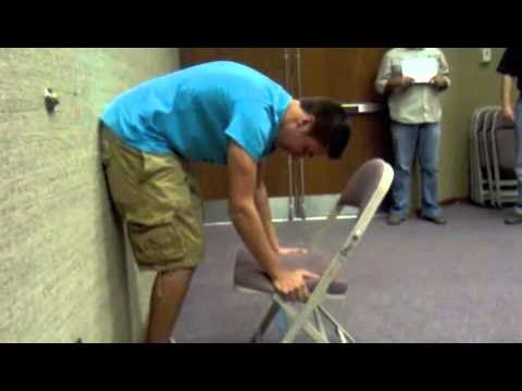 The Chair Lifting Experiment-- Men vs Women