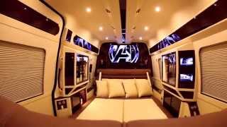 getlinkyoutube.com-Andalucia | 2015 Mercedes Sprinter Conversion by Lexani Motorcars