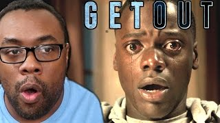"getlinkyoutube.com-GET OUT Movie Review (NO SPOILERS) and ""Uncut"" Reaction #GetOut"