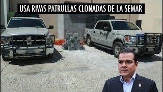 Alcalde de Nuevo Laredo usa patrullas clonadas de la SEMAR