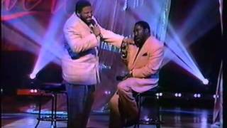 Gerald and Eddie Levert Live Performance: Wind beneath my wings