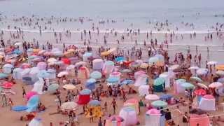 getlinkyoutube.com-Rabat beach morocco - Plage de Rabat - شاطيء الرباط المدينة