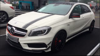 getlinkyoutube.com-Mercedes-Benz A 45 AMG Edition 1 2014 In detail review walkaround Interior Exterior