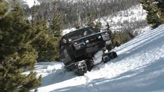 getlinkyoutube.com-Extreme Hagglunds - Spring Snow Madness!