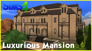 getlinkyoutube.com-Sims 4 Speedbuild: ★ Luxurious Mansion ★