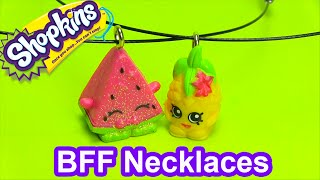 getlinkyoutube.com-DIY How to Make Shopkins BFF Necklace