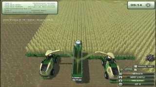 Landwirtschafts Simulator 2013 Mod Test #24 Bergmann HTW 65 und Krone Big X-Gebiss