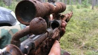 Incredible finds after WWII, found WEAPONS || Невероятная находка времент ВОВ