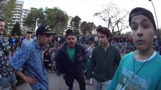getlinkyoutube.com-Rimas y momentos graciosos en batallas de freestyle