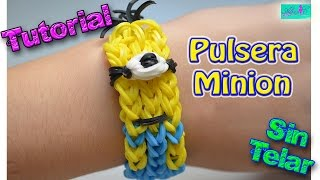 getlinkyoutube.com-♥ Tutorial: Pulsera Minion (sin telar) ♥