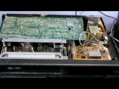 CDC Electronic Workshop S2 EP 1- Fixing the Ferguson VCR pt 2 It's Alive!