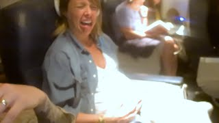 getlinkyoutube.com-PREGNANCY CONTRACTIONS ON THE PLANE!! (390)
