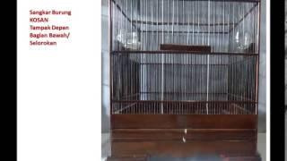 getlinkyoutube.com-Sangkar Burung KOSAN Solo Halus untuk Burung Cendet / Pentet dan Cucak Ijo /Cucak Hijau