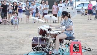 getlinkyoutube.com-2014.07.20 爵士鼓 羅仕茹(羅小白) - Sexy Love