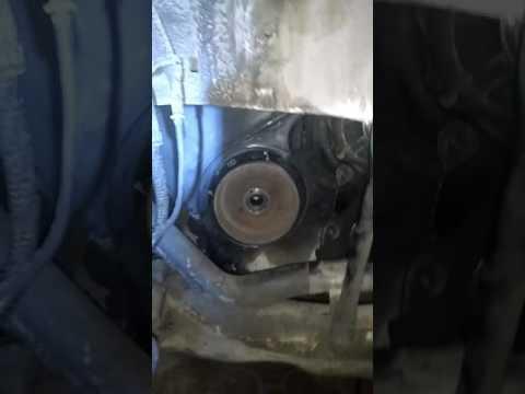 Как открутить шкив на Fiat scudo 220L, 1.9 турбо дизель D8B