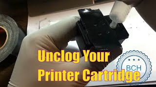 getlinkyoutube.com-3 Most Effective Ways to Unclog HP, Canon and Lexmark Integrated Printhead Cartridges