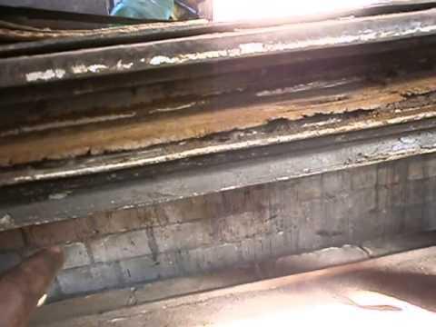 Ремонт салазок боковой двери Т-3