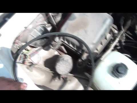 Расположение у ВАЗ 21043 ремня генератора