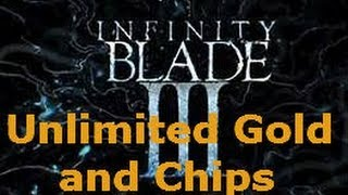 getlinkyoutube.com-Infinity Blade 3: Unlimited Gold and Chips (Modified Save File) PATCHED!!!