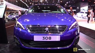 getlinkyoutube.com-2015 Peugeot 308 GT - Exterior and Interior Walkaround - 2014 Paris Auto Show