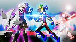 PIVOT Kamen Rider Drive【Type Formula & Dead Heat 】VS Machine Chaser【仮面ライダードライブ】