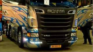 getlinkyoutube.com-Nima Transport - Scania R730 V8