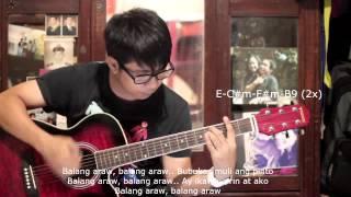 getlinkyoutube.com-Balang Araw - Silent Sanctuary (Guitar Chords)