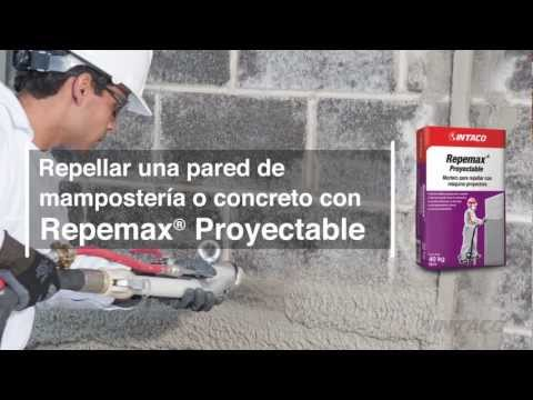 Repellar una pared de mampostería con Repemax Proyectable