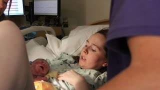 getlinkyoutube.com-MY NATURAL HOSPITAL BIRTH AT 31 WEEKS PREGNANT! EPIDURAL-FREE