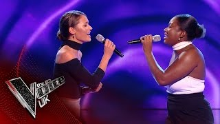 Capital B perform 'His Eye on the Sparrow': Blind Auditions 2 | The Voice UK 2017