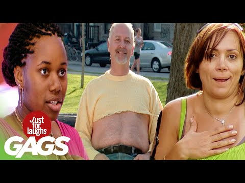 Best of Clothing Pranks | Just For Laughs Compilation
