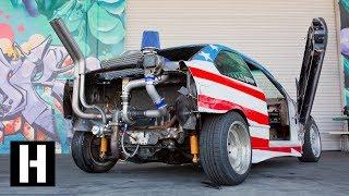 Rear Mounted eBay Turbo?? Sh*tcar Gets Boost width=