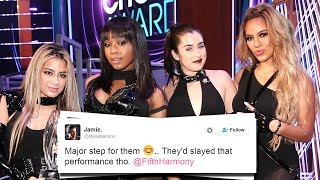 getlinkyoutube.com-Twitter Reacts To Fifth Harmony's FIRST Performance Without Camila At 2017 People's Choice Awards