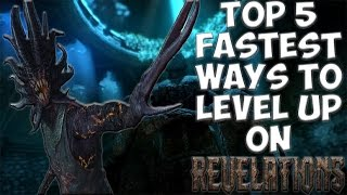 getlinkyoutube.com-TOP 5 FASTEST WAYS TO LEVEL UP ON REVELATIONS! Call of Duty Black Ops 3 Zombies!