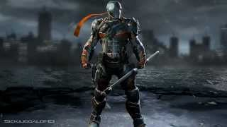getlinkyoutube.com-Batman: Arkham Origins Character Trophies Batman Joker DeathStroke Black Mask Killer Croc
