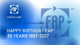 Happy Birthday FAP. 1987-2017. 30 years.