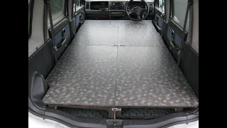 getlinkyoutube.com-ワゴンRの車中泊用フルフラット・ベッドの製作