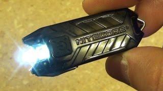 getlinkyoutube.com-Nitecore Rechargeable Keychain Light, T-Series Tube