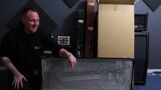 ESP E-2 Eclipse Satin Black Unboxing!!! width=
