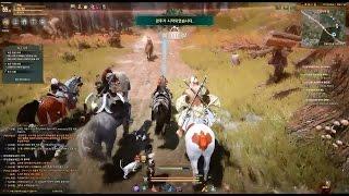 Black Desert Online - Horse Racing