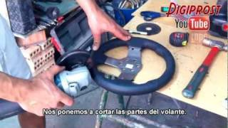 F1 2011 wheel G27mod Ps3-Pc, (Fabricacion del volante)