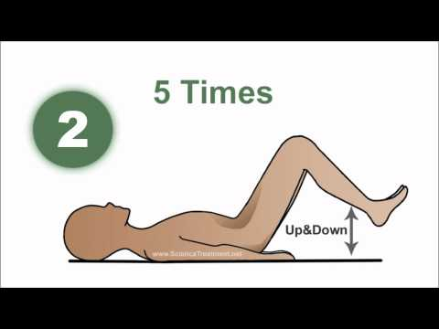 1 Minute Sciatica Exercises