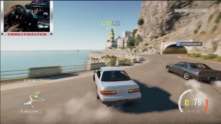 getlinkyoutube.com-Forza Horizon 2 Online Drifting S13 Twin Turbo w/The Crew