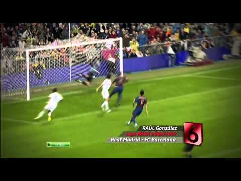 Top 10 Goals [Barcelona-Madrid] HD