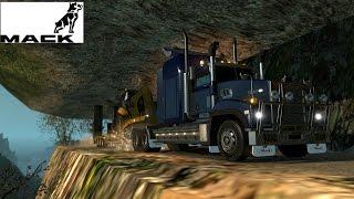 getlinkyoutube.com-ETS2 | Caminos Extremos | Mack Titan V8 Mack E9