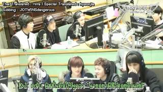 getlinkyoutube.com-[Thai sub] Boyfriend & BTOB - ซองแจโทรหามินวู@Super Junior Kiss the Radio