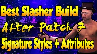 getlinkyoutube.com-NEW* Best Slasher Build After Patch 7 Green EVERY Three! Dunk on Anyone | Signature Styles NBA2K17