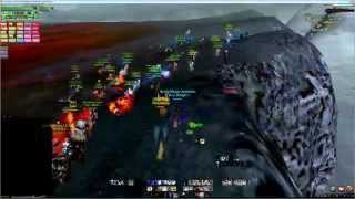 getlinkyoutube.com-Archeage - Server First Red Dragon Kill (Red dragon bow drops) [Morpheus]