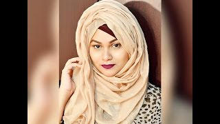 getlinkyoutube.com-Simple Volume Layered Hijab Tutorial by Tabassum