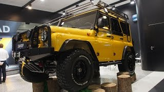 getlinkyoutube.com-UAZ HUNTER 4x4 Offroad Tuning  -  Exterior and Interior Walkaround - Moscow Offroad Show 2015